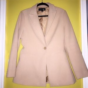 Forever 21 Nude Peacoat